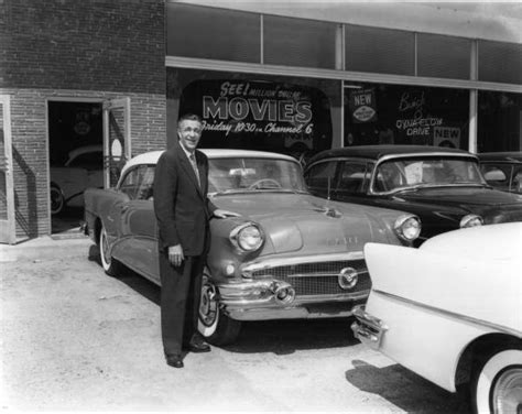 Florida Buick Dealers by Florida Memory Car Dealer Lionel E Carr With A Buick