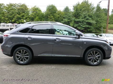 lexus gray 2013 lexus rx 350 f sport awd in nebula gray pearl photo