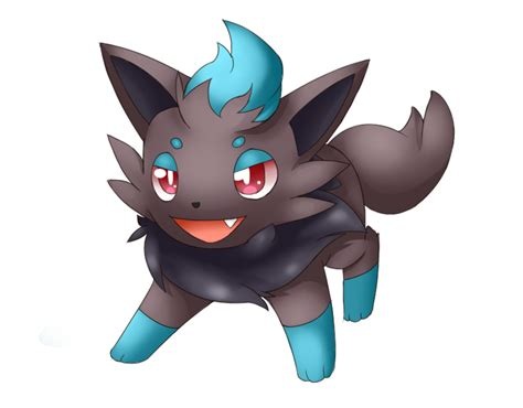 Shiny Zorua By Lunarthunderstorm On Deviantart