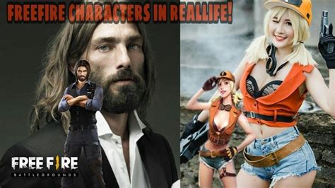 How freefire map or bilduings in real life look likes. Free Fire Characters In Real Life: Find Out Where The ...