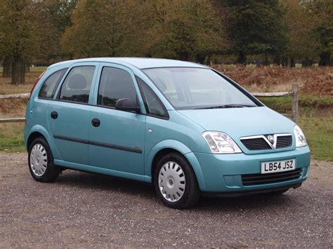vauxhall meriva 2004 used 2004 vauxhall meriva life 16v twinport for sale in