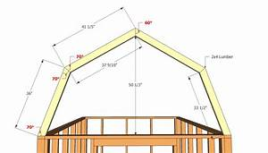 barn shed plans howtospecialist how to build step by With barn style roof trusses