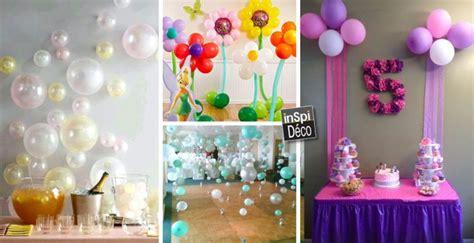 decorer avec des ballons pour  anniversaire  idees