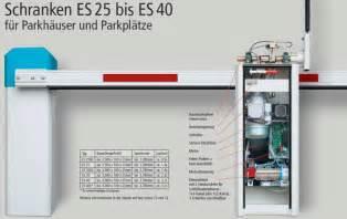 Schrankenanlage Elka Es 40, Mit Funk Mo64