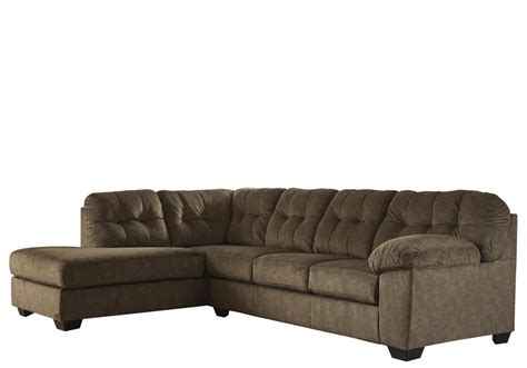 Raf Sofa Sectional by Accrington Earth 2pc Raf Sofa Sectional