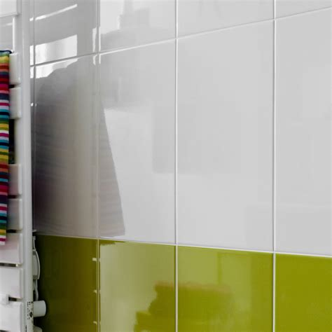 carrelage blanc cuisine salle de bain faience blanche