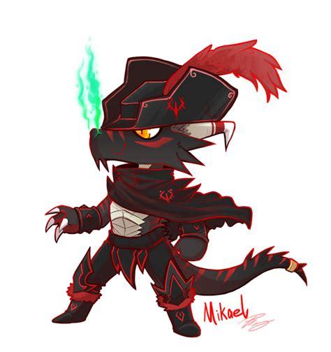 black accent mikael the dragonborn dnd by lazyninjartist on deviantart