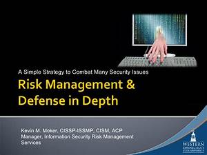 Defense In Depth Using Nist 800