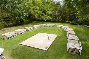 my diy wedding reception theadventuresofmrsnorth With how to make an outdoor wedding dance floor
