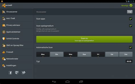 Android, beveiligen - Gratis Antivirus voor