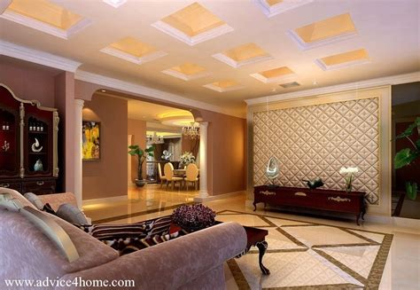 Houzz Living Room Ceiling Designs by White Square Pop Ceiling Design In Living Room