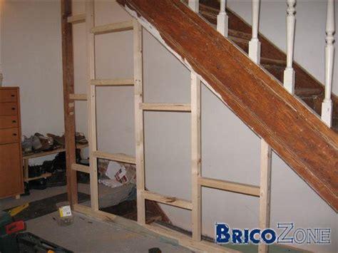 porte cage d escalier r 233 novation cloison cage d escalier
