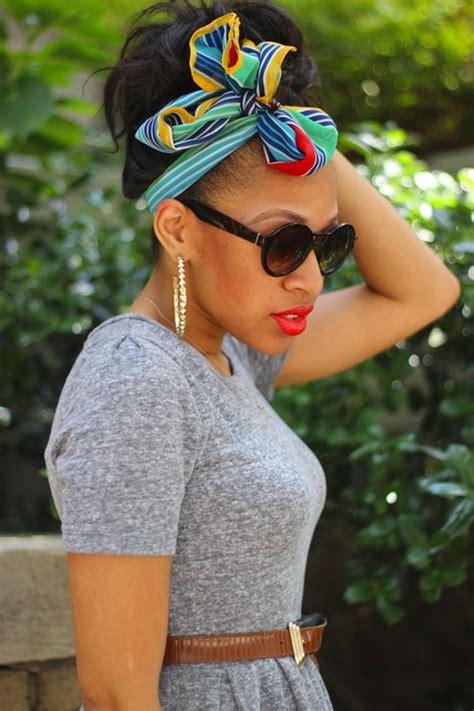 ways  style head scarves