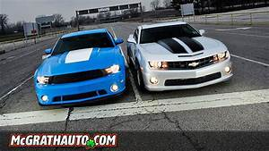 Pat McGrath Chevyland | 2011 Chevrolet Camaro SS vs Ford Mustang GT
