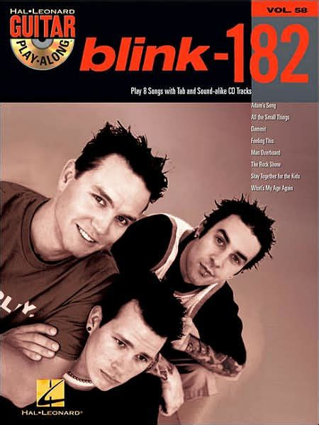 Blink Barnes And Noble by Blink 182 Guitar Play Along Volume 58 By Blink 182