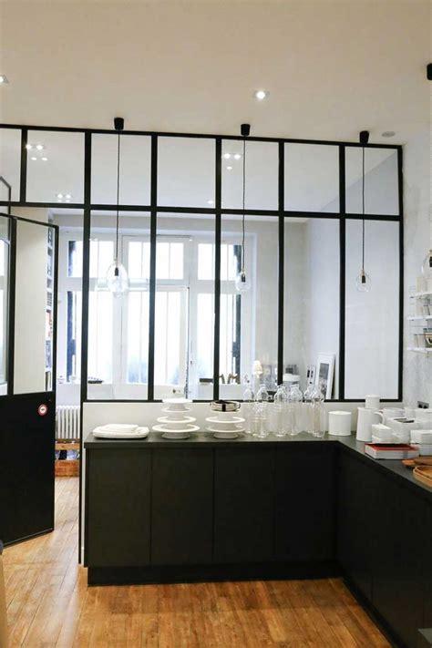 verrieres cuisine une verrière intérieure pour cloisonner l 39 espace avec style