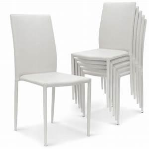 Chaise Blanche Plastique : chaise plastique blanche pas cher id es de d coration int rieure french decor ~ Teatrodelosmanantiales.com Idées de Décoration