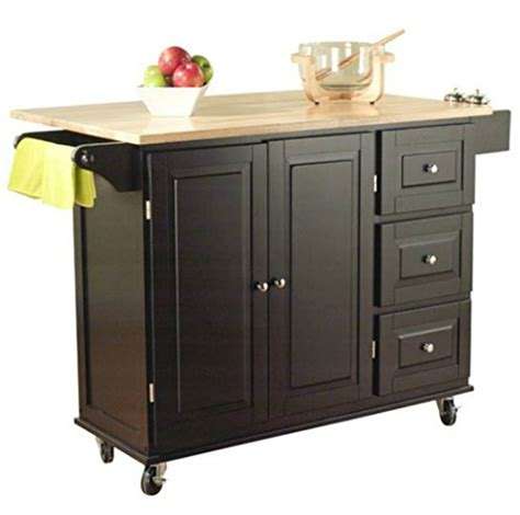 tms kitchen cart  island  portable small island