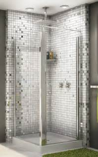 bathroom glass shower ideas 27 great small bathroom glass tiles ideas