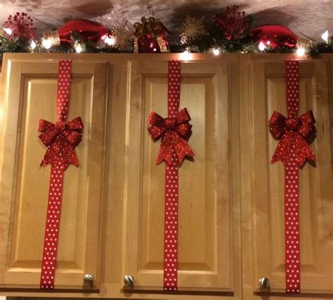 simple christmas decorations for cupboard easyday