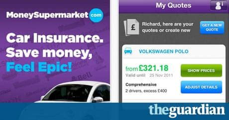 Check spelling or type a new query. Moneysupermarket.com car insurance - consumer app of the ...