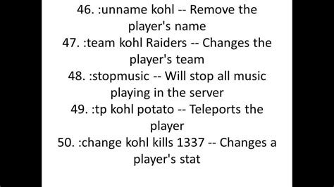 killing floor admin commands not working all of the commands to roblox kohls admin house