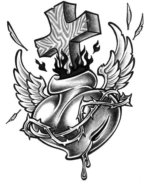 Sacred Heart Tattoo Image » Tattoo Ideas