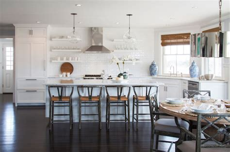 Wishbone Counter Stools Design Ideas