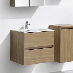le monde du bain meuble salle de bain design simple With salle de bain design avec meuble lavabo 60