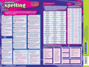 Spelling Rules List