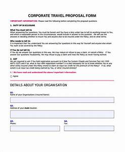 12 travel proposal form samples free sample example format download business travel policy template 12 travel proposal form samples free sample example format download cheaphphosting Choice Image
