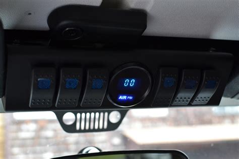 spod  switching button face plates page  jeep