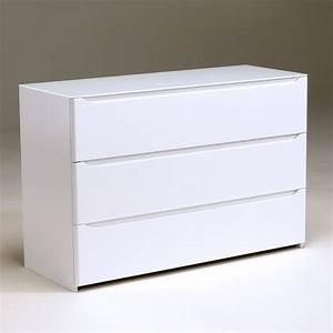Commode 120 Cm : commode 3 tiroirs amber laqu blanc anniversaire 40 ans acheter ce produit au meilleur prix ~ Teatrodelosmanantiales.com Idées de Décoration