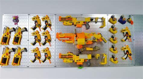 nerf gun rack nerf gun storage rack organize it all nerf