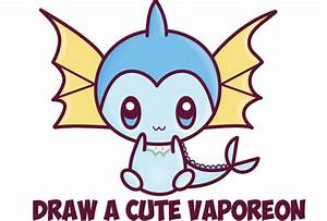 how to draw vaporeon Archives - How to Draw Step by Step ...