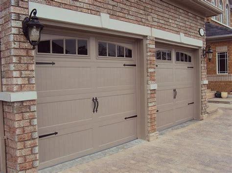 Garage Door Quieter by C H I Overhead Doors Model 5916 Steel Carriage House