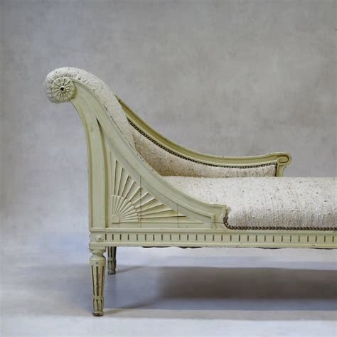 louis xvi style chaise longue circa 1920s for