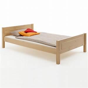 Betten 90 X 200 : einzelbett claudio 90 x 200 cm buchefarben mobilia24 ~ Bigdaddyawards.com Haus und Dekorationen