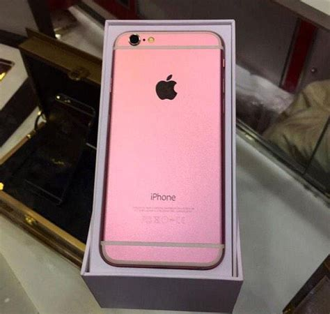 pink is the new gold for the next iphone