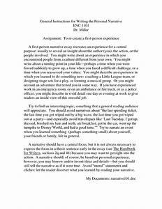 Personal, narrative, essay, sample - jetWriters