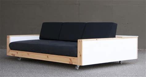 Diy Wood Sofa by 10 Beautiful Diy Sofa Designs Newnist