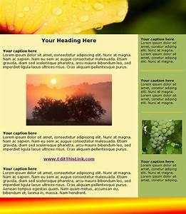 free html newsletter templates noupe With newsletter layout templates free download