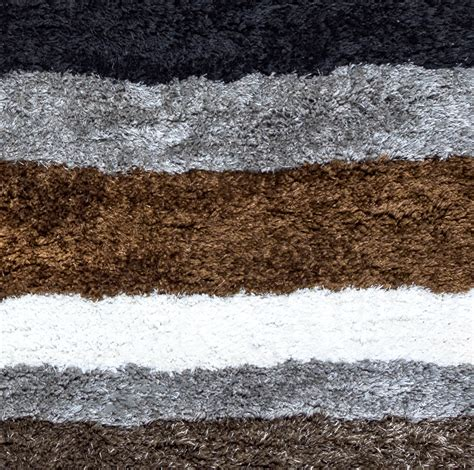gray and black rug commons multi stripe pattern area rug in gray brown black