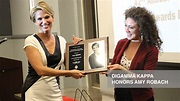 Journalism is a calling': Amy Robach gives advice to Grady ...
