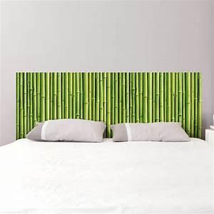 Tete De Lit Bambou : sticker t te de lit tiges de bambou d coration murale chambre coucher gali art ~ Teatrodelosmanantiales.com Idées de Décoration