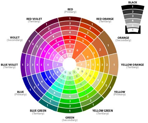 the color wheel summer school it s your turn to learn monochromatic