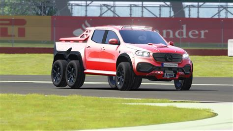 Not every truck deserves to be a we wouldn't be surprised to see the 6x6 concept appear with a totally new engine. Mercedes-Benz X-Class Carlex EXY Monster X 6X6 2019 Top Gear at Silverstone - YouTube