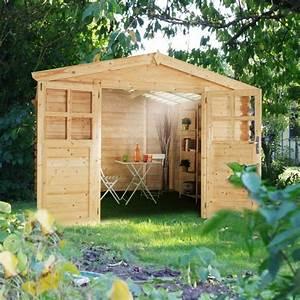 Abri De Jardin Bois 6m2 : abri de jardin 6m2 utah bois 28 mm ~ Farleysfitness.com Idées de Décoration