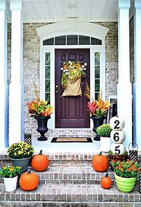 27, Best, Fall, Porch, Decorating, Ideas, And, Designs, For, 2017