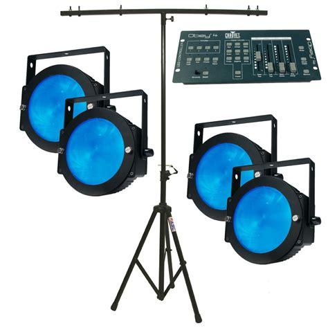 american dj light stand parts american dj 4 dotz par led color mixing lights w stand